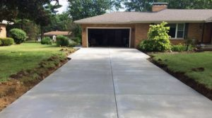 Concrete Driveway install in Garland, TX